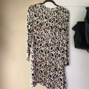 & Other Stories Animal Print Dress